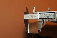 Уголок алюминиевый 25х25х2 мм АД31Т, фото 1