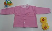 Кофточка на пуговичках на новорожденную девочку, рост 68 см