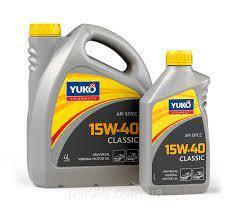 Моторное масло YUKO Classic 15w40 SF/CC 1л.