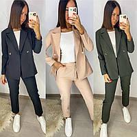 Костюм женский пиджак и брюки