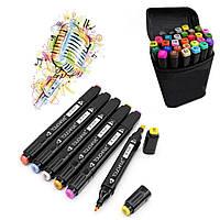 Набор скетч маркеров для рисования двухсторонние Touch Sketch 48 шт (7656)