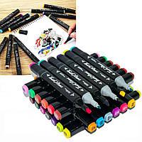 Набор скетч маркеров для рисования двухсторонние Touch Sketch 36 шт (7750)
