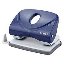 Дырокол для бумаги Axent Welle-2 3820-02-A, пластиковый, 20 листов, синий
