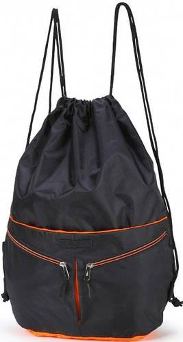 Прекрасный молодежный спортивный рюкзак, Dolly (Долли) 838 черный