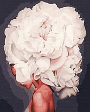 Картина по Номерам Белый цветок 40х50см RainbowArt