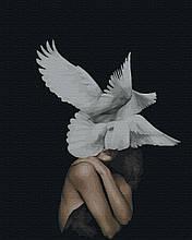 Картина по Номерам Женщина - птица 40х50см RainbowArt