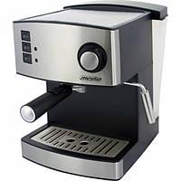 Кофеварка компрессионная Mesko MS-4403 15 Bar Silver 112437, КОД: 2380703