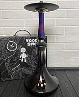 Кальян Voodoo Smoke Down - Cosmo Craft чорно-прозорою
