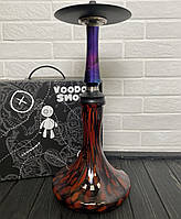Кальян Voodoo Smoke Down - Cosmo Craft чорно-червоної
