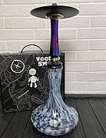 Кальян Voodoo Smoke Down - Cosmo Craft чорно-блакитний