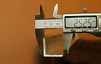 Уголок алюминиевый 25х25х3 мм АД31Т, фото 1