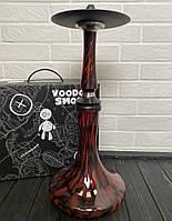 Кальян Voodoo Smoke Down - чорно-червоний з колбою