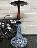 Кальян Voodoo Smoke Down - чорно-червоний Craft чорно-блакитний