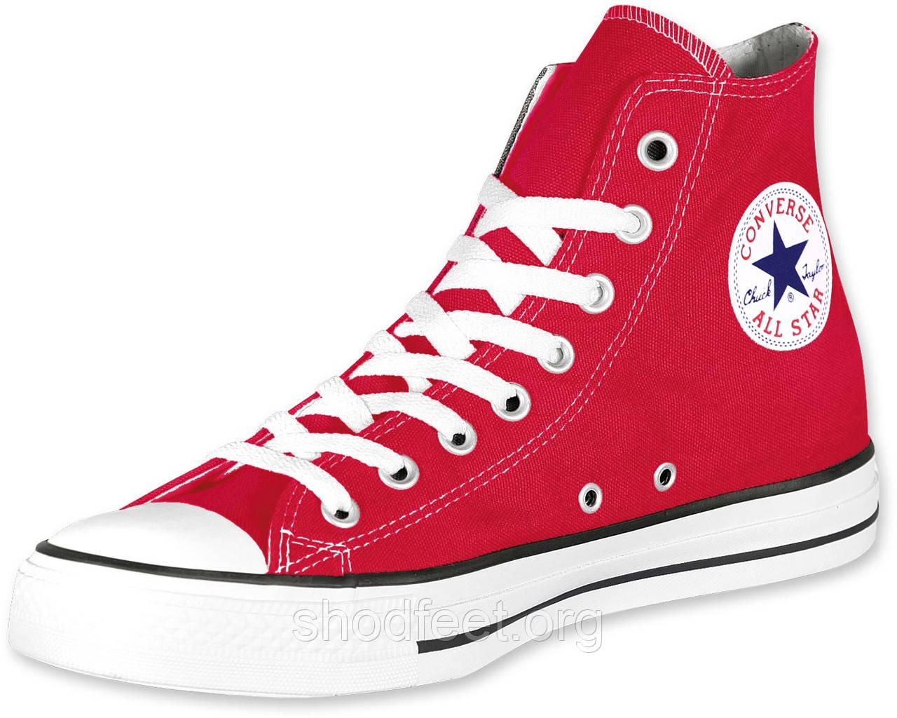 Кеды Converse All Star Red High Womens