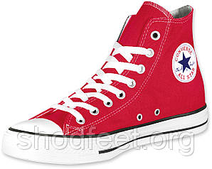 Кеды Converse All Star Red High Womens