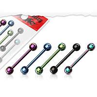 Штанга в мову зі сталі Spikes - різні кольори