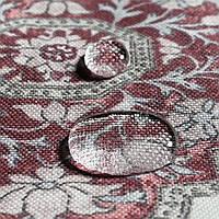 Декоративна тканина вензель рубін 88133v10, фото 1