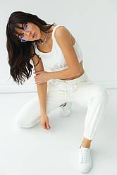 Ello Трикотажный костюм из джоггеров и топа - молочный цвет, L