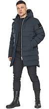 Стильна куртка на зиму для чоловіків графітова модель 49023