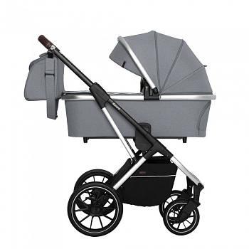 Коляска универсальная 2 в 1 Carello Aurora CRL-6505 Silver Grey сумка для мамы +дождевик