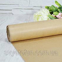 Бумага флористическая крафт