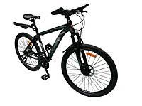 Велосипед SPARK TRACKER 26-AL-18-AM-D (Серый с зеленым)