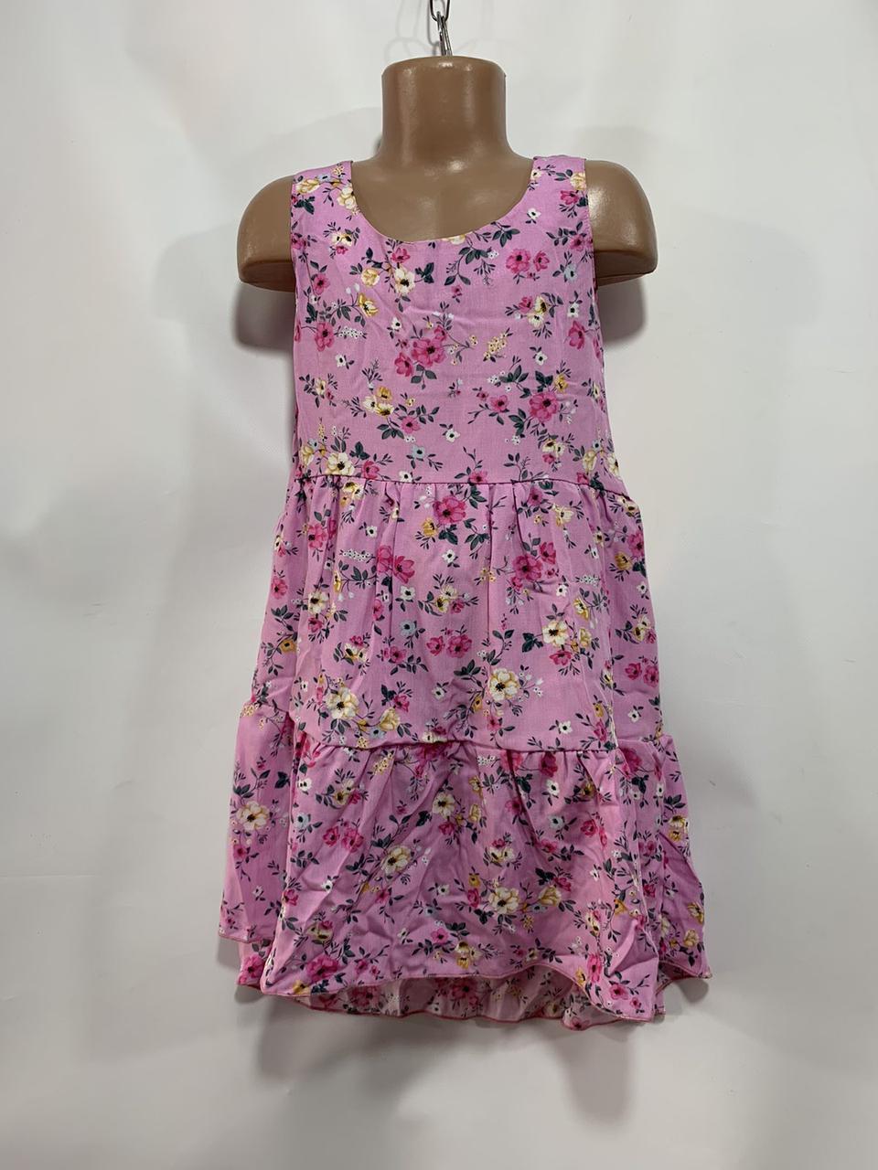 Летнее платье для девочки р. 6-10 лет