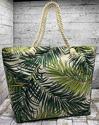 """Пляжна сумка """"Листя"""""""