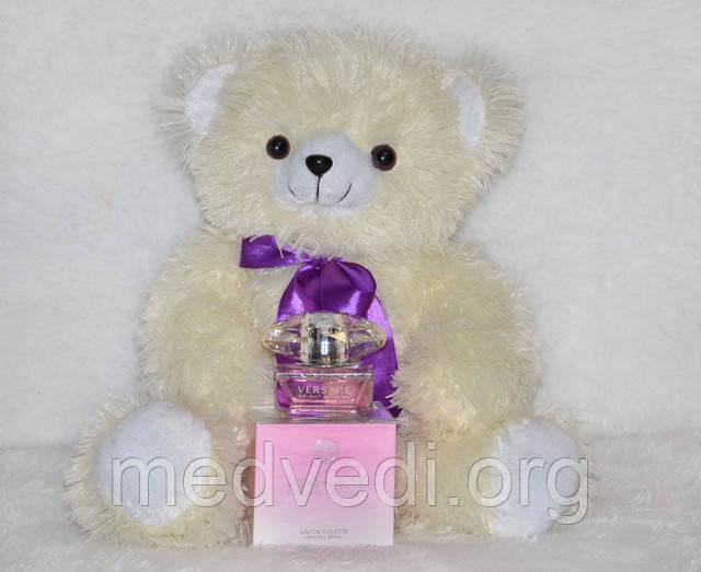 Плюшевый медвежонок бело-кремовый 60 см