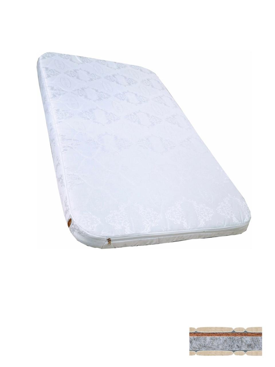 Матрас для кроватки Ника/ кокос + флексовойлок