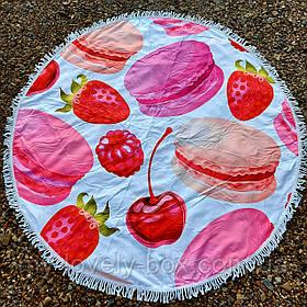 Полотенце-коврик пляжное круглое (Арт. TP312/11)