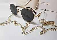 Солнцезащитные очки - Valentino V LOGO VA 2043 3005/11  с цепочкой ( 57/19/140)