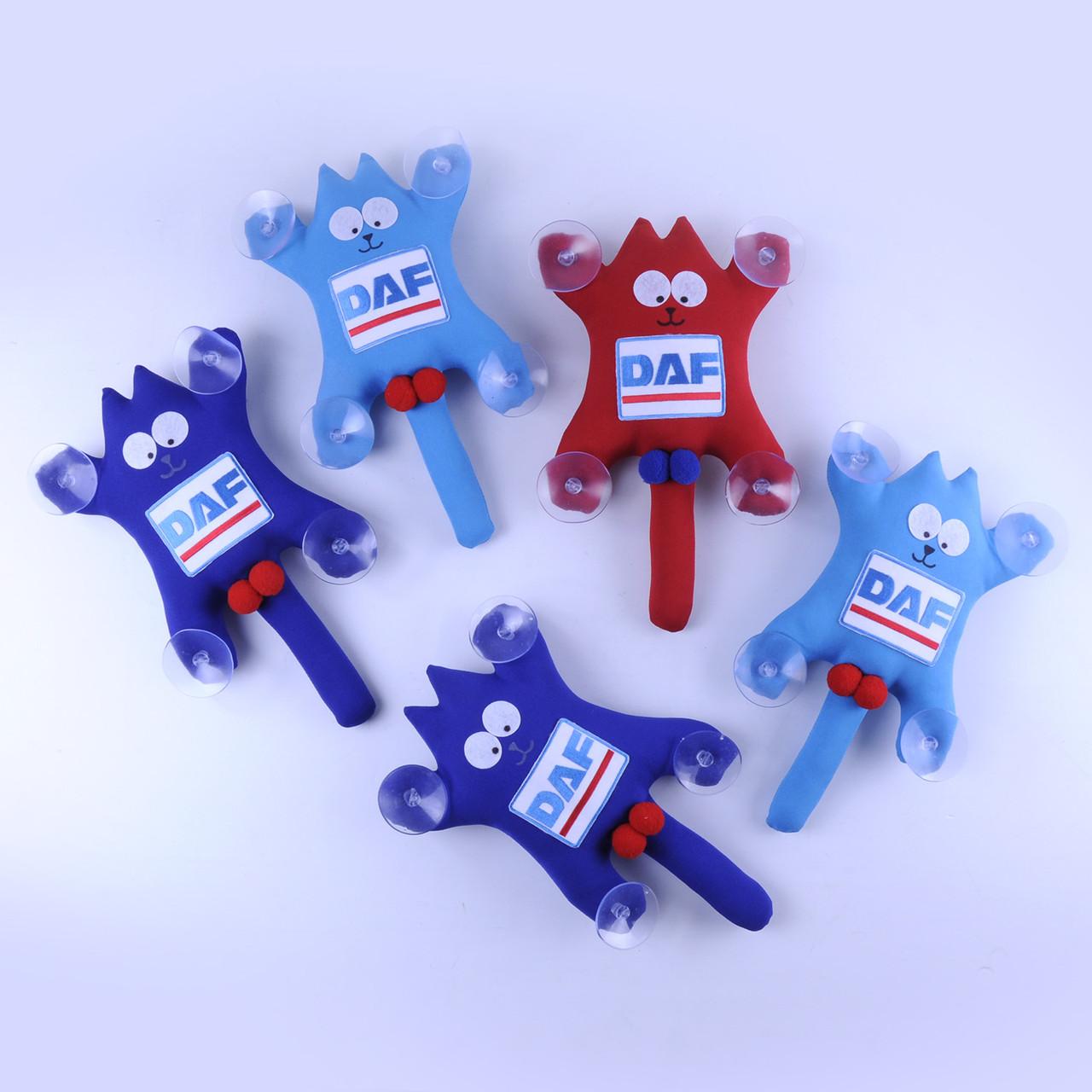 М'яка іграшка Кіт Саймон з лого DAF ручна робота