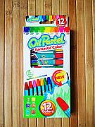Восковые мелки oil pastel 12 цветов | Цветные карандаши | карандаши масляные пастельные | восковые карандаши|
