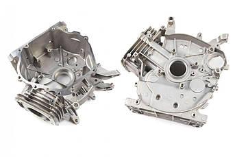 Блок двигателя на Мотоблок 177F (9 Hp Лошадиных Сил) (Ø77,00) ЗС (ZS)