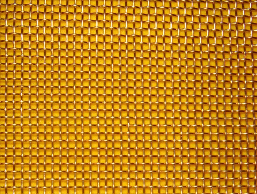 Ткана сітка латунна осередок 0,045-0,036 мм БрОФ6,5-0,4/Л-80 ГОСТ 6613-86