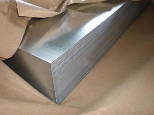 Лист стальной оцинокованный 0.55х1250х2500 мм хк холоднокатанный