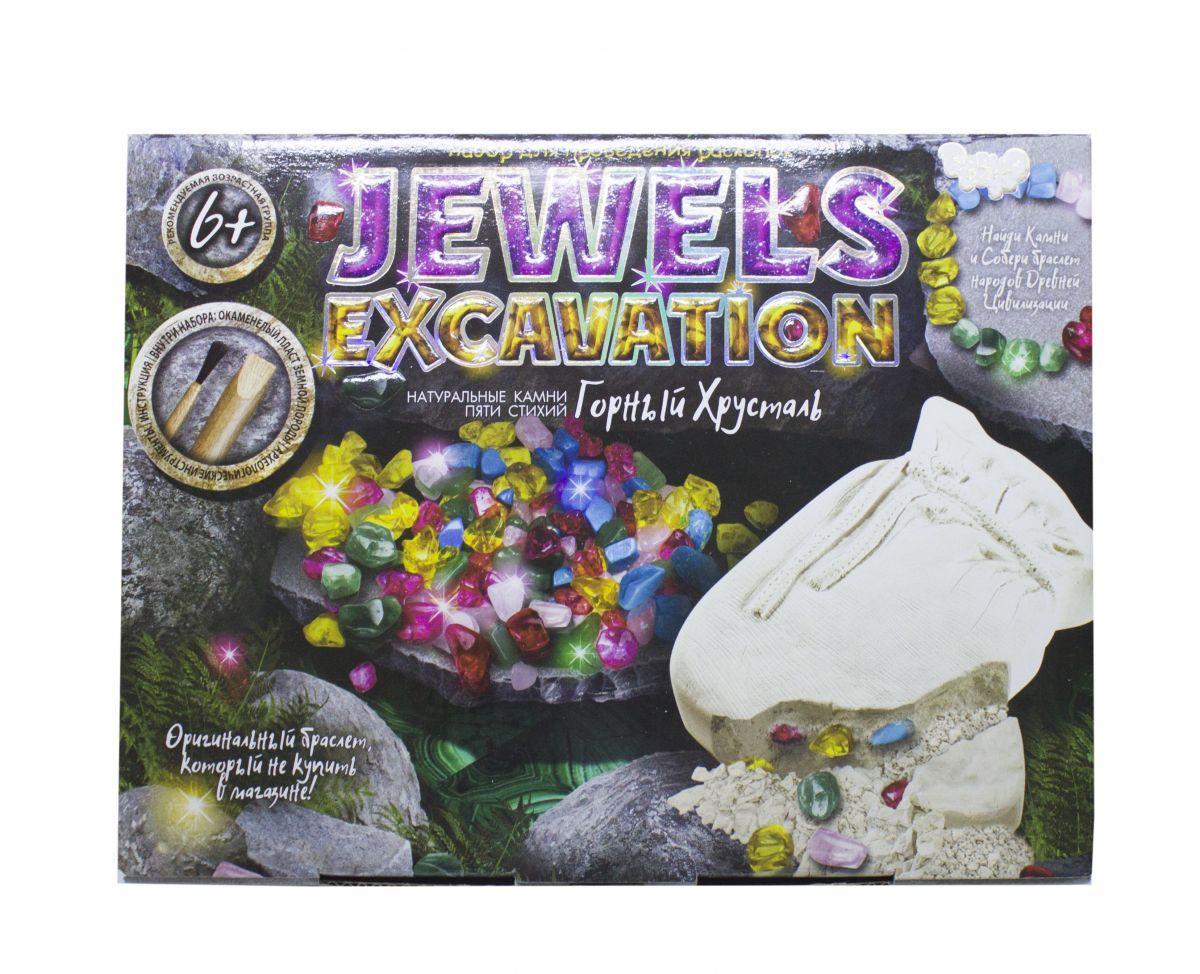 """Набір для проведення розкопок """"JEWELS EXCAVATION"""" (укр) JEX-01-02"""