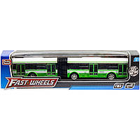 Автобус металлический (зеленый) 6576
