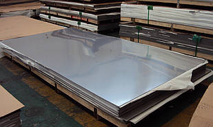 Лист нержавеющий AISI 430 10.0х1500х3000 мм полированный, матовый, шлифованный