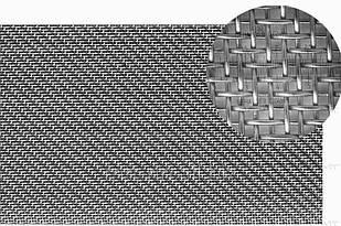 Сетка нержавеющая тканая фильтровочная П76 AISI 304 ширина 1000 мм