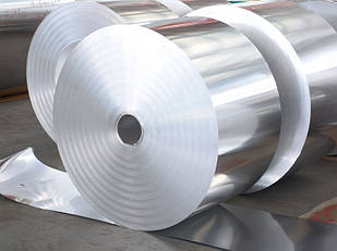 Фольга алюминиевая 0.1х200 мм марка 8011М от 50 кг