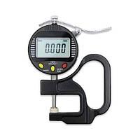 Толщиномер индикаторный цифровой 0-10 мм (0.001мм) PROTESTER 5318-10, фото 1