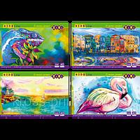 Альбом для рисования ZiBi 40 л.. A4. 120 г. м2 клеенный блок KIDS Line ZB.1460