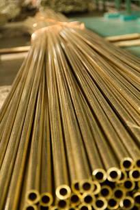 Труба латунная Л63 12х1,5х3000 мм п\тв