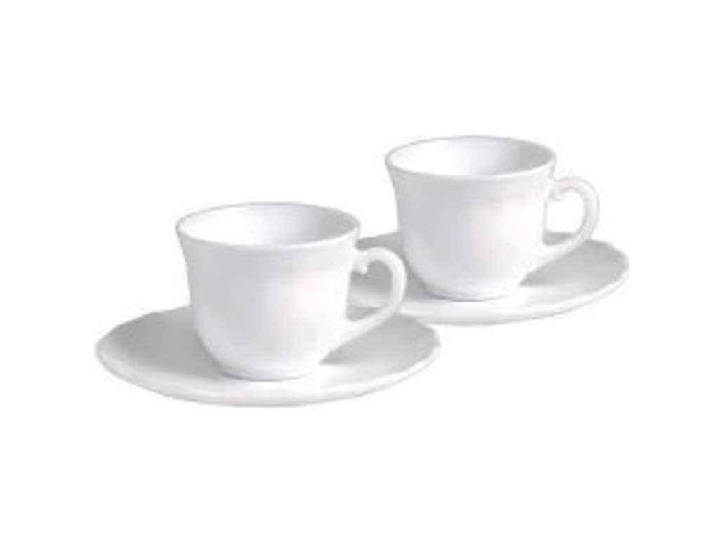 Сервиз чайный LUMINES 12 предметов White