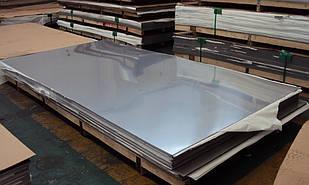 Лист нержавеющий AISI 201 2.5х1000х2000 мм полированный и матовый