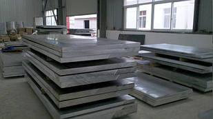 Плита алюминиевая, лист Д1Т 24х1520х3000 мм аналог (2017)