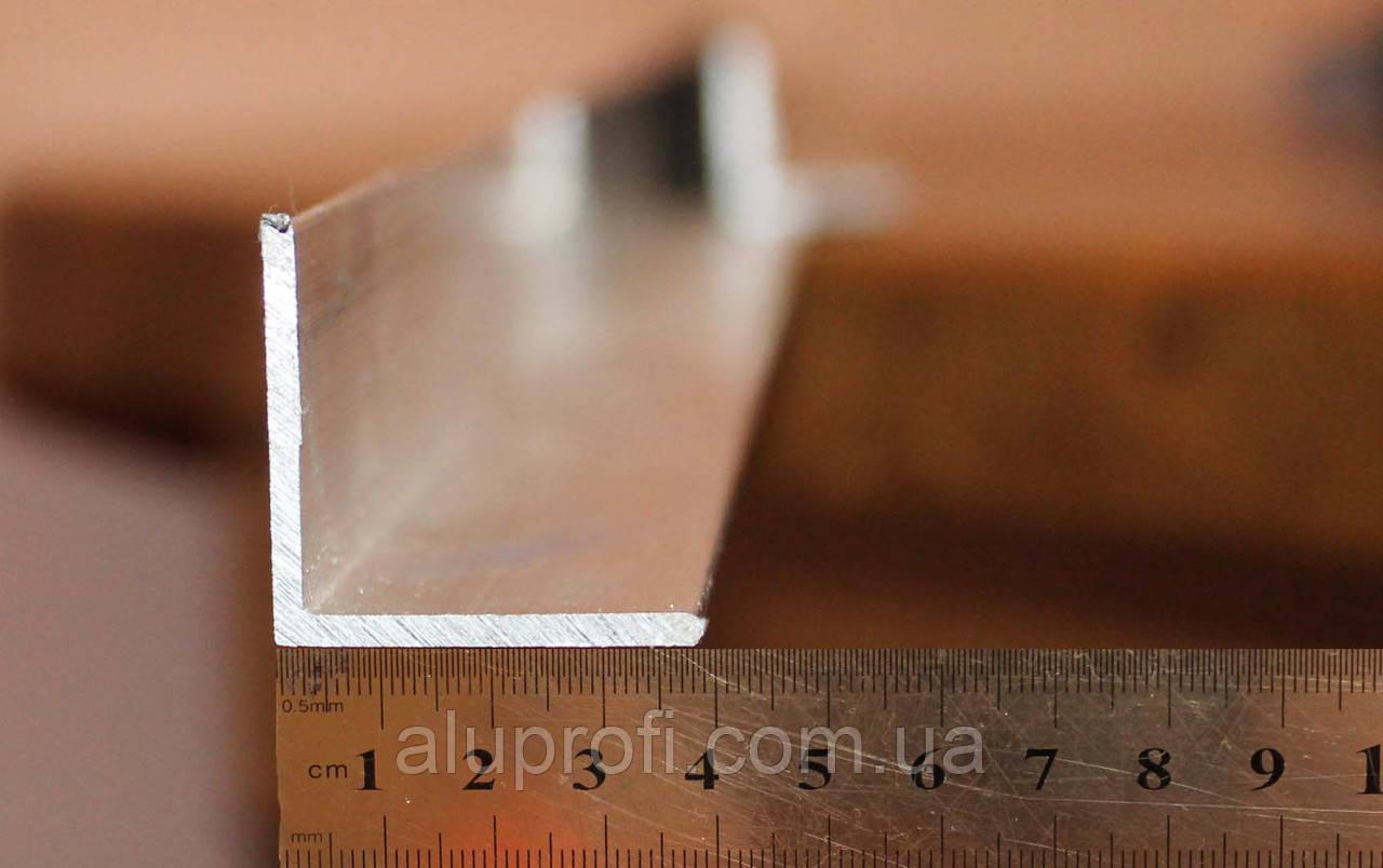 Уголок алюминиевый 40х40х2 мм АД31Т АН15
