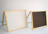 """Двухсторонняя доска для рисования """"Винни пух"""" (59см.*45см.), настольная, напольная."""